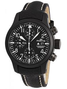 Fortis B-42 Flieger Chronograph PVD Limited Edition 656.18.81 L.01 Limited Edition Watches, Breitling, Chronograph, Accessories, Clocks, Clock