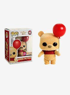 Funko Pop! Disney Christopher Robin Winnie The Pooh Flocked Vinyl Figure - BoxLunch Exclusive