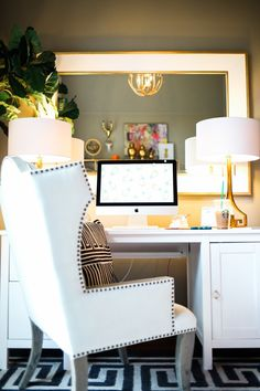Why not have the coziest desk chair?