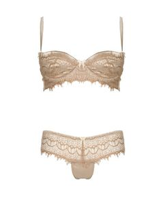 Gorgeous delicate satin and eyelash lash lingerie from Mimi Holiday