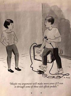 How guitarists argue.