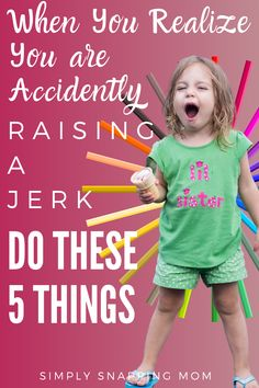 Sometimes, despite your best efforts, you realize you are raising a mean kid, or actually that you are raising a jerk. If that sounds familiar, do these 5 simple things to raise nice kids who are kind to others. Parenting Toddlers, Kids And Parenting, Parenting Hacks, Parenting Plan, Parenting Done Right, Toddler Behavior, Raising Boys, Teen Quotes, My Children