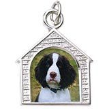 Be able to keep him close to you at all times when you add him to your charm bracelet. PhotoArt Charms in sterling silver or gold.