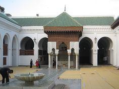 Interior of Al Quaraouiyine Mosque