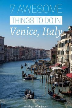 Heading to Venice, Italy? Check out this list for things to do! Including climbing the campanile for sunset, seeing San Marco Square, exploring the Doge Palace, riding in a vaporetto, eating cicchetti, and more. italy, venice, italy travel, venice travel, italy things to do, venice things to do #italytravelinspiration
