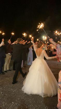 Wedding Send Off, Wedding Exits, Wedding Ceremony, Reception, Sparkler Wedding, Sparkler Send Off, Magical Wedding, Dream Wedding, Barn Wedding Lighting
