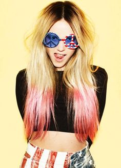 Hair Chalk and Wild Sunglasses