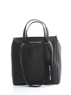 Marc Jacobs Leather Shopper Bag In Black Shopper Bag, Tote Bag, Marc Jacobs Bag, World Of Fashion, Travel Bags, Luxury Branding, Fashion Backpack, Shoulder Strap, Leather