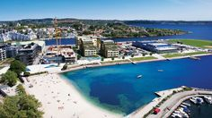 Bystranda, Kristiansand - Kristiansand - Wikipedia, the free encyclopedia Kristiansand Norway, Places To See, Places Ive Been, Cathedral School, Transatlantic Cruise, Kristiansund, Sand Volleyball Court, Aalborg, Cool Countries