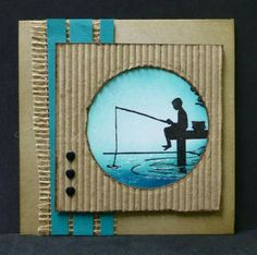The first thing you need to know about making a scrapbook is that it isn't a complicated process at all. Scrapbooking isn't just for the 'crafty' person among Masculine Birthday Cards, Birthday Cards For Men, Masculine Cards, Boy Cards, Kids Cards, Album Scrapbook, Karten Diy, Fathers Day Cards, Paper Cards