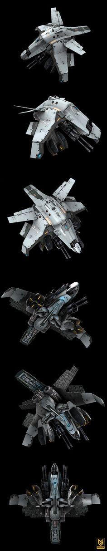 SentryBot Killzone 3, Nazz Abdoel on ArtStation at https://www.artstation.com/artwork/zoGJ2