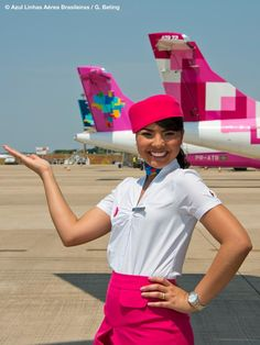 Flight Attendent. Azul Linhas Aéreas is a Brazilian domestic low-cost airline based in Barueri.