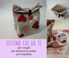 cestino fai da te porta regali http://www.lodicolofaccio.it/2016/10/cucire-cestino-stoffa-porta-regali-tutorial.html
