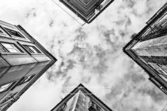 X by tozefonseca Travel Pictures, Louvre, Black And White, Nice Travel, Street, Building, Lisbon Portugal, Travel Photos, Blanco Y Negro