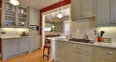painted craftsman kitchen - Google Search