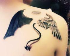 Disegni di tatuaggi angeli e demoni (Foto) | Nanopress
