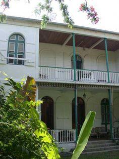 Pointe pitre un coin du march la viande i old p p pinterest coins - Plan de maison coloniale ...