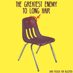 Only people with long hair would understand