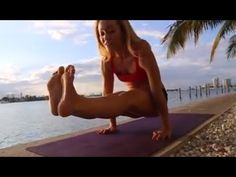 Yoga Strength: Prepare for a V Sit with Kino MacGregor - YouTube