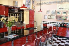diner themed family room/bar | Wonderfully quirky hideaways for weekends in the country - AOL Travel ...