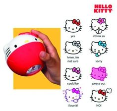Hello Kitty Luck Ball (Red Version)