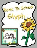 Sunflower Glyph~All About Me~ Back to School