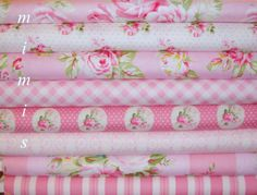 Cameo Sunshine Rose Fabric  by Tanya Whelan Fabric / 8 Half Yard Bundle Cotton Quilt Fashion Fabric on Etsy, $37.99
