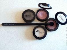 makeup brush  blush brush  eye shadow brush Belle&makeup mi mundo de color beauty blog