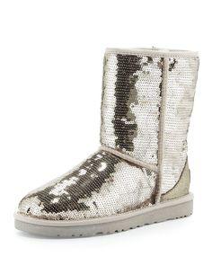 Women\'s UGG Classic Short Grey Shoes.com | Fashion | Pinterest ...