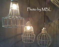 Draadlamp model 3
