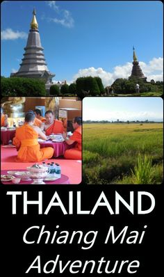 A Chiang Mai itinerary that includes the 'Roof of Thailand', beautiful scenery, fantastic cuisine, temples, culture, and the Loi Krathong Festival!