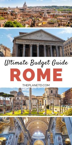 Rome for Free – Free and Cheap Attractions to do in Rome – Best Europe Destinations Italy Travel Tips, Rome Travel, Greece Travel, Budget Travel, Europe Budget, London Travel, Travel Hacks, Travel Packing, Travel Usa