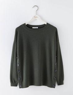 Grace Button Sweater Boden