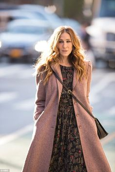 New looks: Sarah Jessica similarly claims that her character Frances in the upcoming HBO series Divorce is 'incredibly different' from her
