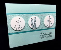 Handmade card using the Flowering Fields and Suite Sayings Stamp Sets from Stampin' Up!