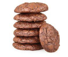 Brownie sušienky Small Desserts, Crinkles, Sweet Recipes, Brownies, Cookies, Chocolate, Baking, Fit, Basket