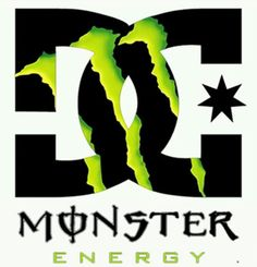 dc shoes pin monster dc shoes energy wallpaper logo tattoo on rh pinterest com Fox and Monster Logo Monster Hunter Logo