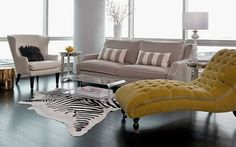 Ideas para decorar el salón con chaise longue |  DECOFILIA.com