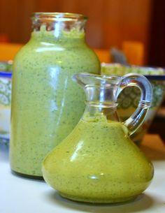 Cilantro Cream Sauce -