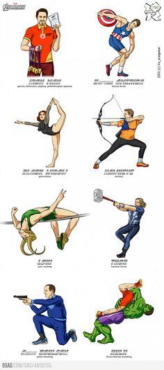The Avengers! Olympics