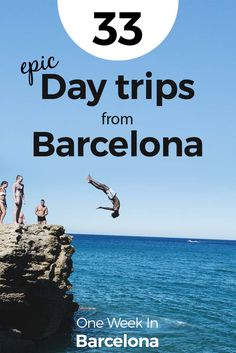 Do you want to get out of the city? There are so many opportunities and options for day trips from Barcelona. We at One Week In dedicated this full article only to cool day trips you can take from Barcelona. Barcelona is our home, and we've spent summer and winters exploring the city, Catalunya, and everything around. Find our  33 epic day trips from Barcelona at http://one-week-in.com/day-trips-from-barcelona/