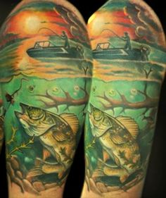 fishing tattoos