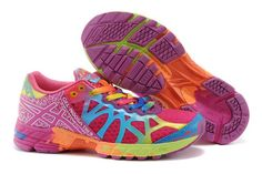 14fc22486 Asics Gel Noosa TRI 9 WMNS Running Shoes Fuschia Royal Blue  onitsukatiger