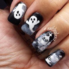 halloween by nailsbyalexiz  #nail #nails #nailart