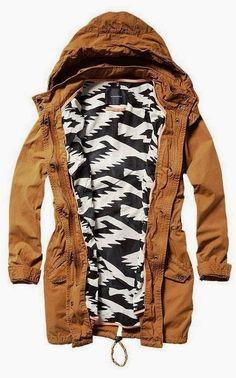 Comfy Khaki Hooded Jacket
