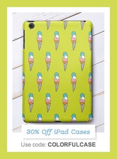 Save 30% on all Zazzle iPad cases using code: COLORFULCASE at checkout! Offer is valid through May 10, 2015 at 11:59PM PT