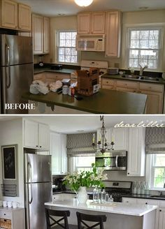 Jason's Full House Tour (Lots of Before and Afters)  by Dear Lillie...October 2014. Gorgeous~