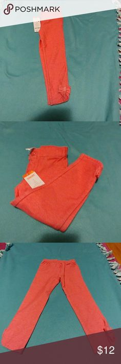 Gymboree coral jeggings 3t 3t pinkish coral jeggings new w tags. 95%cotton 5%spandex super stretchy really pretty color. (Doesn't have an ajustable waist) Gymboree Bottoms Leggings