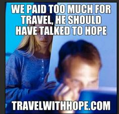 Why pay full price? Travelwithhope.com