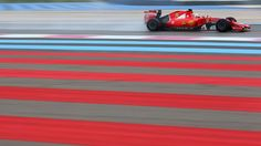 Sebastian Vettel sets fastest time on final day of wet weather test at Paul Ricard
